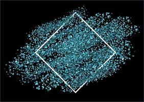 sfondo glitter blu