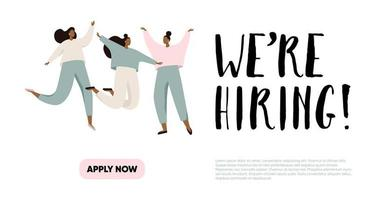 We Are Hiring Illustration