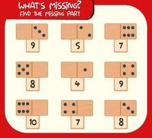 Écrire la feuille de calcul du nombre manquant