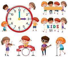 Set if children character vector