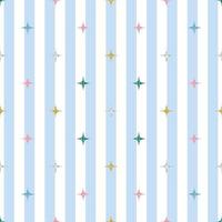 seamless colorful glitter pattern on stripe background