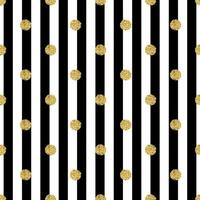 seamless gold dot glitter pattern with stripe background