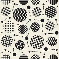 seamless circle shape pattern background