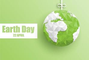 Happy earth day background