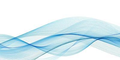 Fließende blaue Wellen Hintergrund