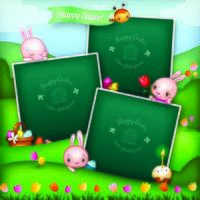 Three Easter Story Photo Frames