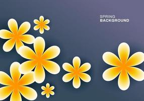 Abstract beautiful spring background design vector