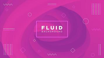 Modern motion pink fluid background