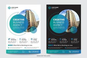 Circle Image Business Flyer Template