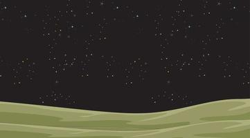 Night Sky with Stars Background  vector