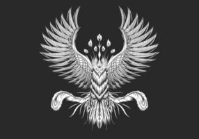 Diseño de ave fénix