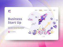 Business Start Up Concept