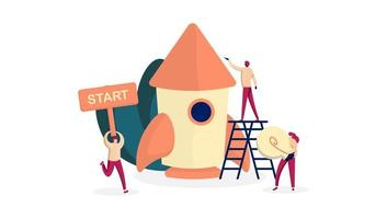 Startup Design for New Business Launches with Rocket and Workers