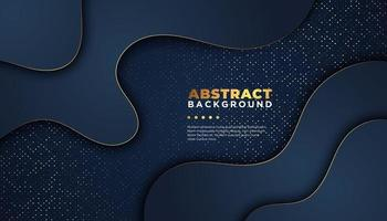 Dark abstract background with overlap layers. Luxury design concept.