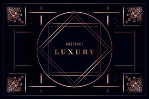 Fundo ornamental de luxo