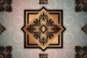 Ornamental Pattern Hintergrund