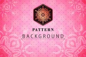 Pink Pattern Textures Background