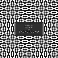 Abstract Seamless Black Geometric Pattern