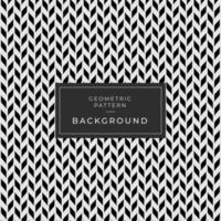 Seamless Black and White Abstract Background