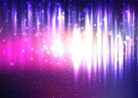 Abstract Background With a Glow Design