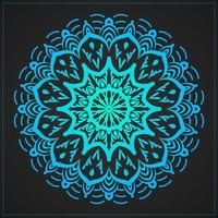 Blue Gradient Luxury Decorative Mandala