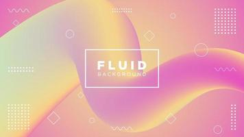 Pink and Yellow Gradient Fluid Motion Design