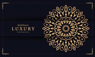 Floral Luxury Decorative Mandala vector