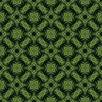 Light Green Leafy Details Pattern