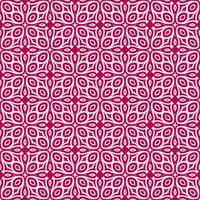 Magenta and Light Pink Geometric Pattern