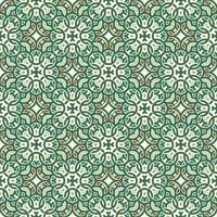 Green, Red, and Light Green and Geometric Pattern