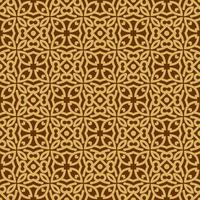 Tan and Brown Geometric Pattern