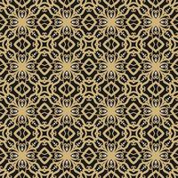Black, Tan, and White Geometric Pattern