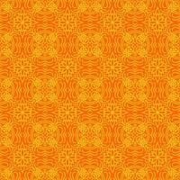 Orange and Yellow Geometric Pattern