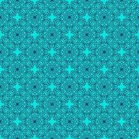 Turquoise and Navy Geometric Pattern vector