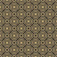Light Brown, Black, and White Geometric Pattern