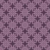 Mauve and Light Purple Geometric Pattern