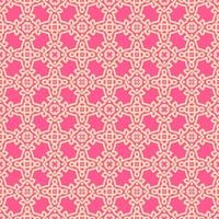 Pink and Peach Geometric Pattern