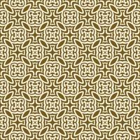 Brown and Cream Geometric Pattern