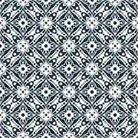 Geometric Navy and White Pattern vector