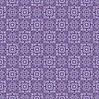 Dark Purple and Lighter Purple Geometric Pattern