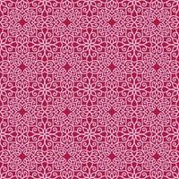 Pink and Magenta Geometric Pattern