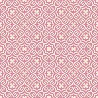 Pink and Lighter Pink Flower-like Geometric Pattern