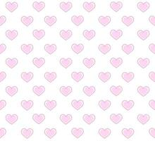 Pink Inset Hearts Pattern