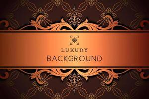 Luxury Ornamental Pattern with Copy Space