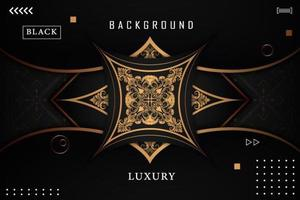 Luxury Gold Ornamental Background vector