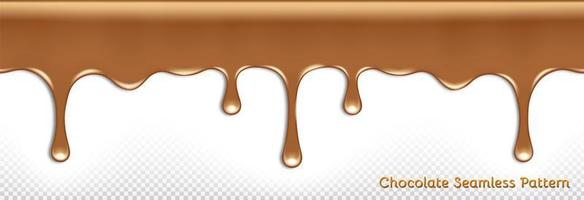 Seamless flowing chocolate