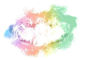 Colorful Painted Smeared Background