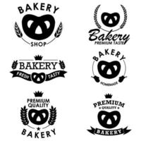 Bakery Badge Collection with Pretzel