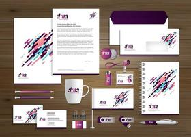 Purple and Blue Business Templates