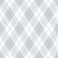 Seamless Gray Argyle Pattern vector